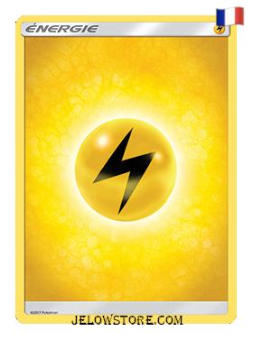 carte pokemon energie electrique