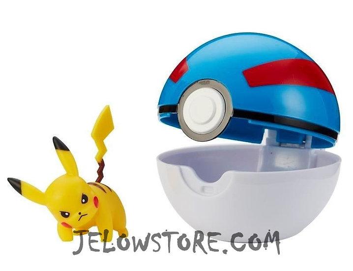 Pokémon [Pokéball Clip 'N' Go]: Pikachu + Super Ball