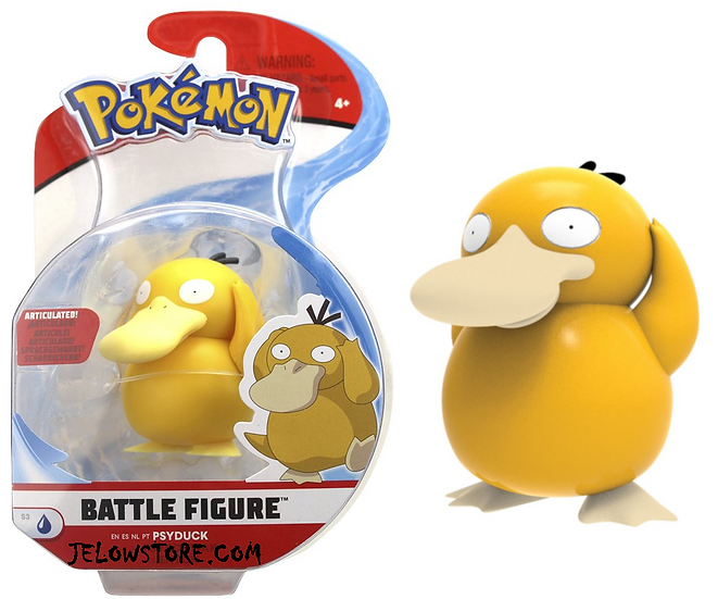 figurine pokemon psykokwak