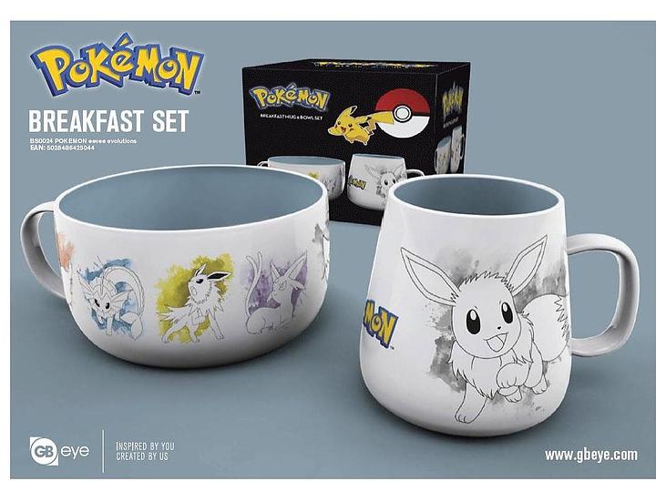 Set Petit-Déjeuner Pokémon - Eevee