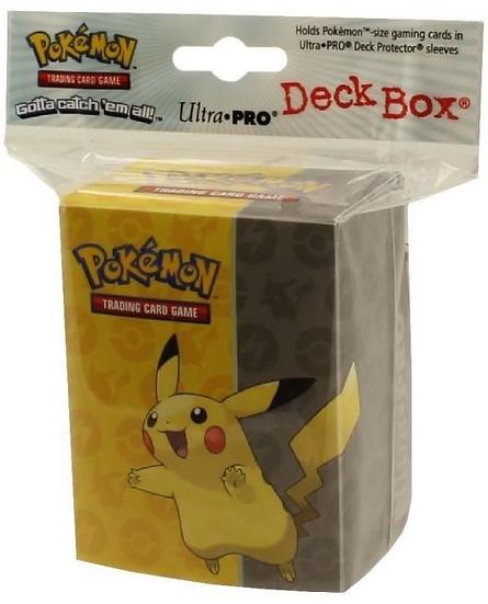 DECK BOX -  Pikachu