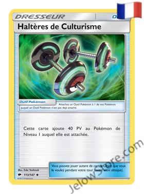 HALTERES DE CULTURISME 113/147 FR [SL3 OMBRES ARDENTES]