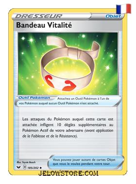 BANDEAU VITALITE 185/202 FR [EPEE ET BOUCLIER]