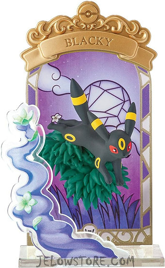 POKEMON - STAINED GLASS COLLECTION - Noctali