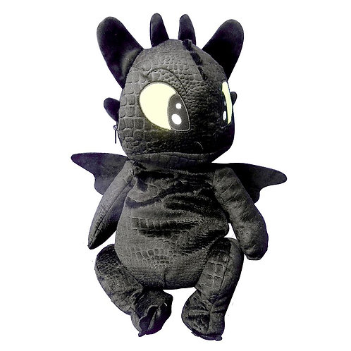Sac à dos peluche Dragons 3 - Toothless