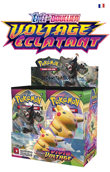 display pokémon EB04 voltage éclatant