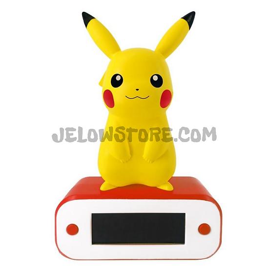 Teknofun - Pikachu - Réveil avec lampe LED