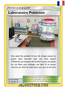 LABORATOIRE POKEMON 205/236 FR [SL11 HARMONIE DES ESPRITS]