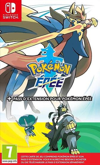 Nintendo Switch Pokémon Epée + Pass d'Extension FR