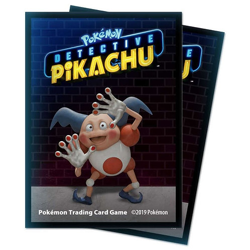 Protèges-Cartes Pokémon [Ultra Pro] - Détective Pikachu - Mr Mime x65