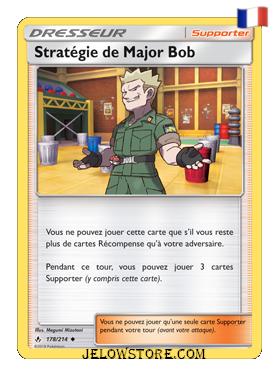 STRATEGIE DE MAJOR BOB 178/214 FR [SL10 ALLIANCE INFAILLIBLE]