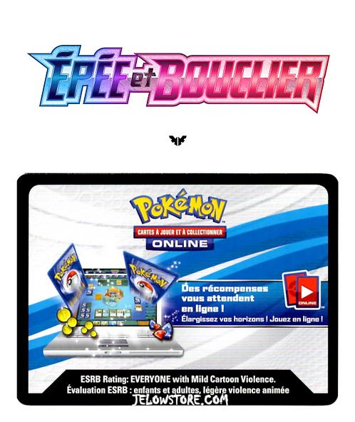 code en ligne pokémon epee et bouclier