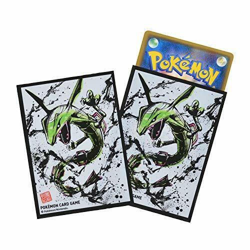 Pokémon Center Original Pokémon Card Game Deck Shield, Ink Painting Series, Rayquaza