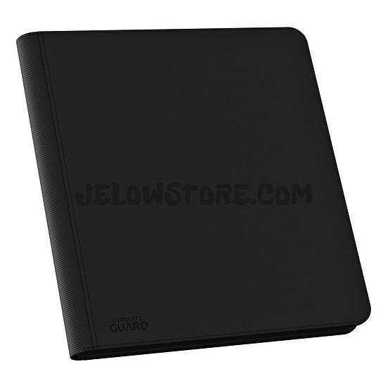 Portfolio 12-Pocket QuadRow ZipFolio XenoSkin 480 [Ultimate Guard] - Noir