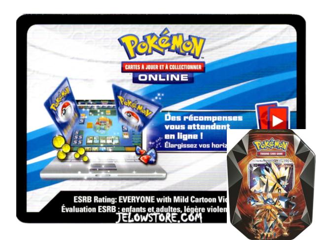 Code Online Pokémon - 1x Pokébox Necrozma Crinière du Couchant-GX