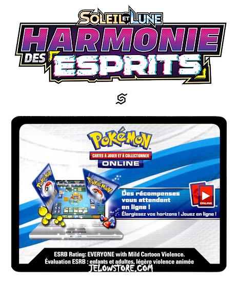 Code Online Pokémon - 1x booster [SL11 - HARMONIE DES ESPRITS]
