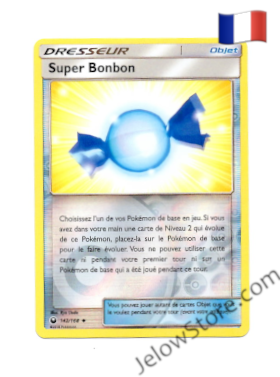 SUPER BONBON REVERSE  142/168 FR [SL7 TEMPETE CELESTE]