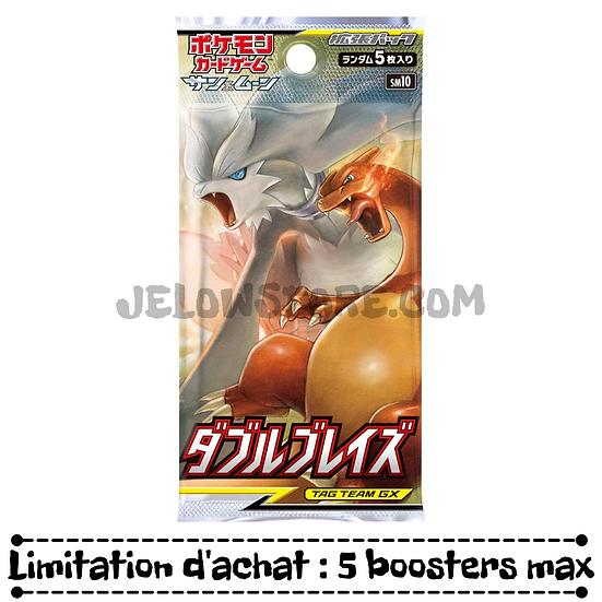 "TCG JAP SM10 - Booster x1 ""DOUBLE BLAZE"""