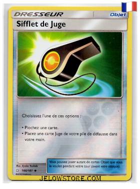 SIFFLET DE JUGE REVERSE 146/181 FR [SL9 DUO DE CHOC]
