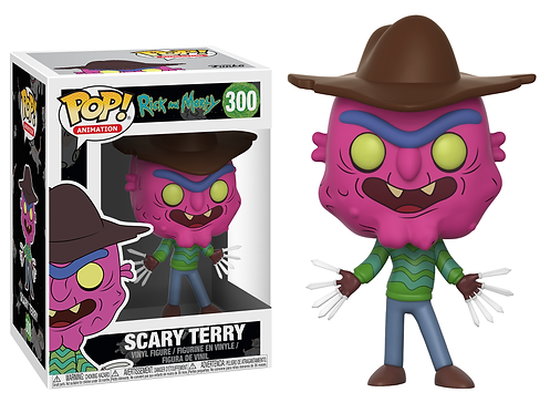 Rick et Morty figurine POP Scary Terry