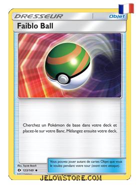 FAIBLO BALL 123/149  FR [SL1 SOLEIL ET LUNE]