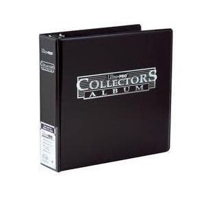 Ultra Pro Collectors Album Noir classeur 3 anneaux