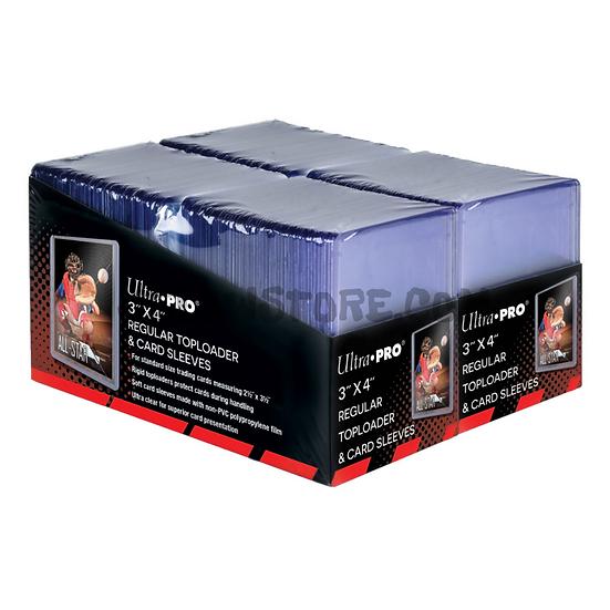 "[Ultra PRO] Toploader 3""x4"" regular + card sleeves x200"