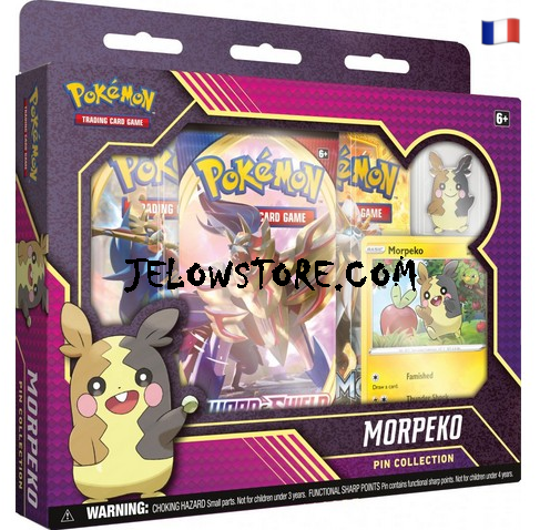 coffret pokemon pin collection morpeko