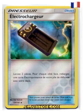 Electrochargeur carte objet reverse 139/181