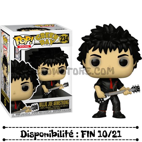 Funko pop [Green Day] Billie Joe Armstrong - #234