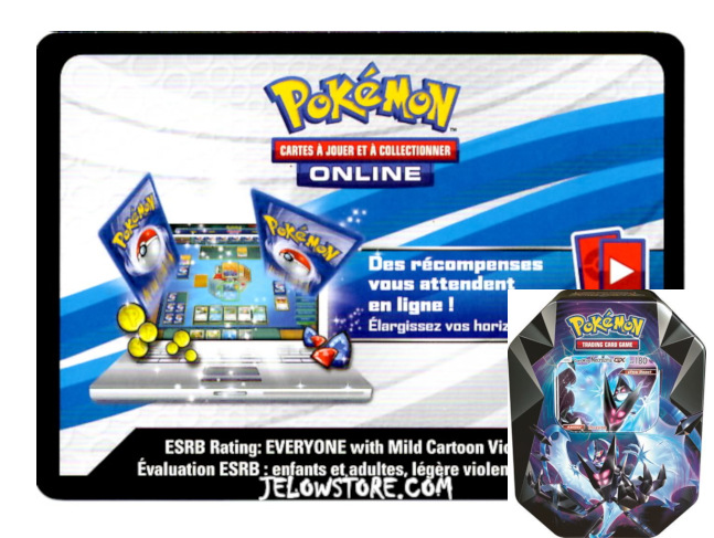 Code Online Pokémon - 1x Pokébox Necrozma Ailes de l'Aurore-GX