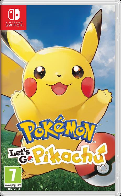 Nintendo Switch Pokémon Let's Go Pikachu FR