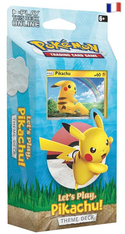 Let's Play Pikachu Deck à thème FR