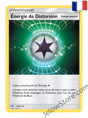 ENERGIE DE DISTORSION 70/73 FR [SL3.5 LEGENDES BRILLANTES]