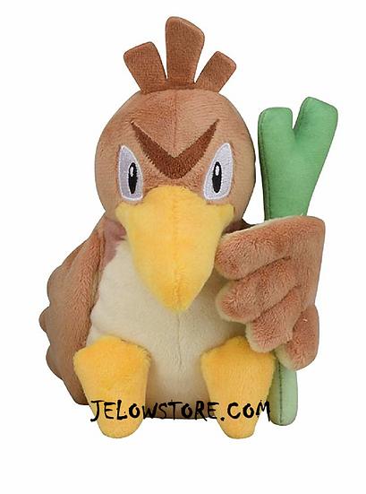 peluche pokemon canarticho officielle