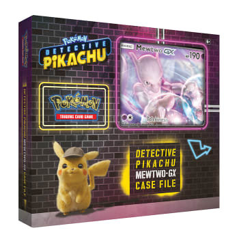 Coffret Détective Pikachu Mewtwo GX FR