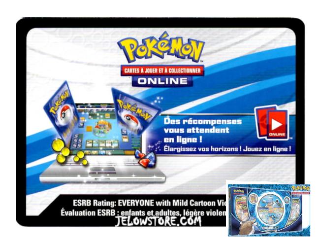 Code Online Pokémon - 1x Coffret Collection Premium Tortank-GX