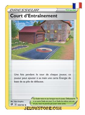 COURT D'ENTRAINEMENT 169/192 FR [EB02 CLASH DES REBELLES]