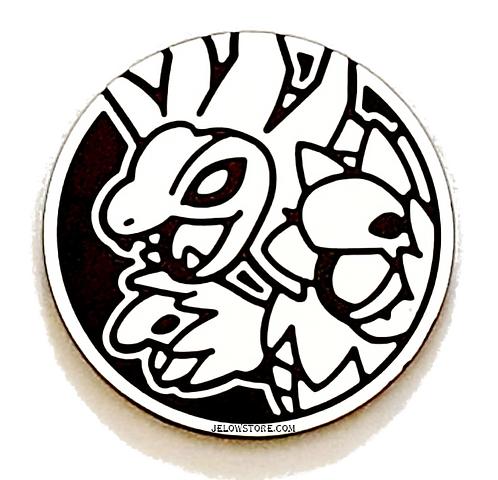 Pièce jeton Pokémon Trioxhydre