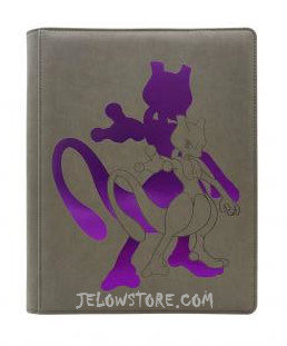 Ultra Pro Premium Binder 9 cases Pokémon Mewtwo