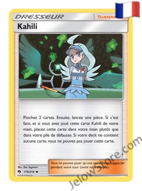 KAHILI 179/214 FR [SL8 TONNERRE PERDU]