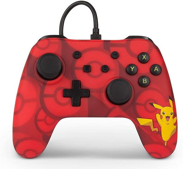 manette nintendo switch pokémon pikachu