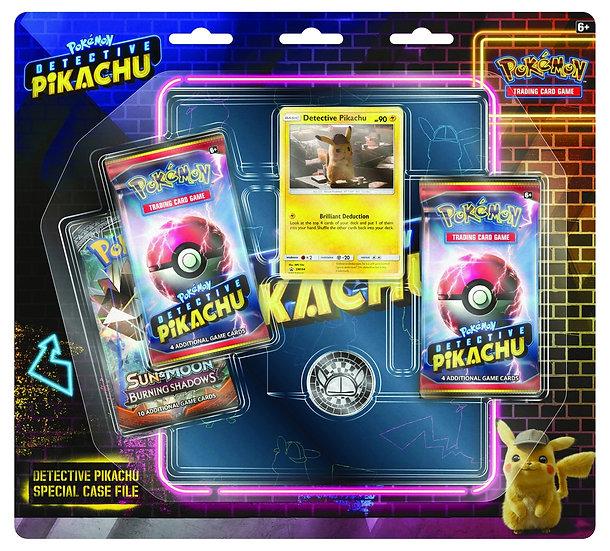 Tripack et portfolio détective Pikachu