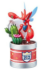 POKEMON FIGURE POCKET BOTANICAL - Cizayox