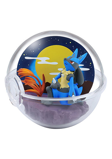 POKEMON TERRARIUM FOUR SEASONS - Lucario