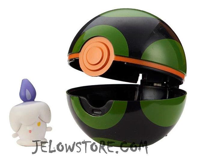 Pokémon [Pokéball Clip 'N' Go]: Funécire + Sombre Ball
