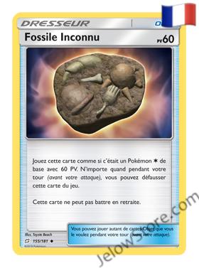 FOSSILE INCONNU 155/181 FR [SL9 DUO DE CHOC]