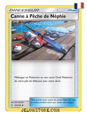 CANNE A PECHE DE NEPHIE 195/236 FR [SL12 ECLIPSE COSMIQUE]
