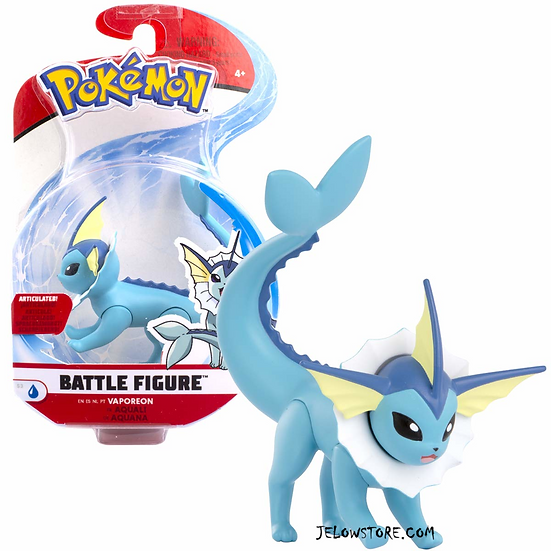 pokemon figure battle aquali