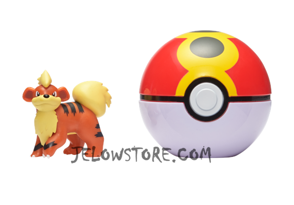 Pokémon [Pokéball Clip 'N' Go]: Caninos + Bis Ball